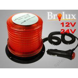 KOGUT LAMPA OSTRZEGAWCZA 24 LED POMARAŃCZ 12V 1199