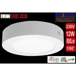 Panel LED PLAFON oprawa natynk lampa 12W dzienna