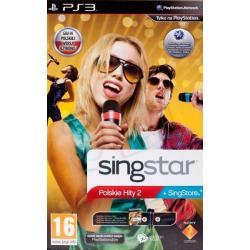 Gra PS3 Singstar Polskie Hity 2 + Mikrofony Bezprz.