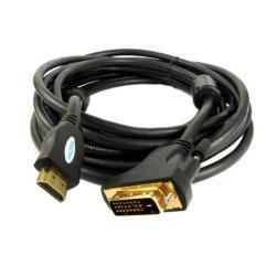KABEL HDMI 19PIN-DVI 3M GOLD