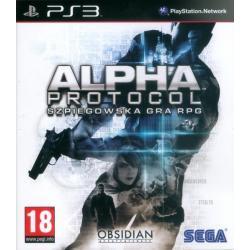 Gra PS3 Alpha Protocol