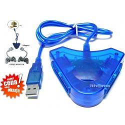 PRZEJŚCIÓWKA USB NA PSX/PS2 2 PADY