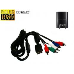 KABEL COMPONENT AV FULL HD DO SONY PS2/PS3