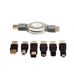 ZESTAW PRZEJŚCIÓWEK NA USB + OPAK.