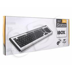 KLAWIATURA I-BOX SIROCCO PRZEWODOWA, USB