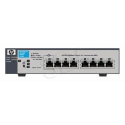HP ProCurve (J9449A) L2 Switch 1810G-8 8x10/100/1000Mbps bezwiatrakowy  - zasilany przez PoE