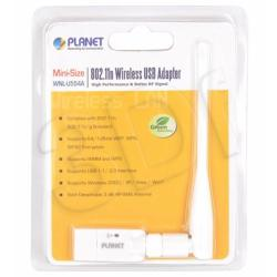 PLANET WNL-U554A USB Wi-Fi 11n LAN Adapter (1T/1R)