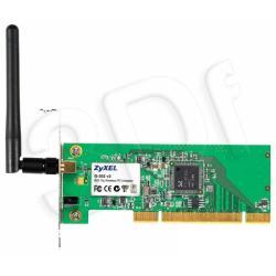ZyXEL (G-302v3) Karta bezprzewodowa PCI 802.11g, 2.4GHz, 54Mbps - dodatkowy Bracket Low Profile