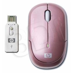 HP Bezprzewodowa mini mysz optyczna różowa KJ453AA