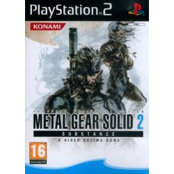 Gra PS2 Metal Gear Solid 2: Substance