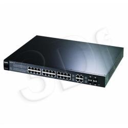 ZyXEL GS1500-24 Switch 24x10/100Mbps L2 4xSFP PoE