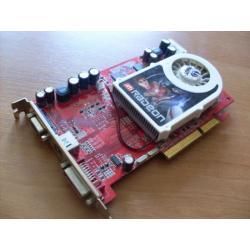 KARTA graficzna ATI RODEON AGP 256 MB