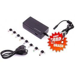 ZASILACZ UNIWERSALNY 220V NOTEBOOK+kabel