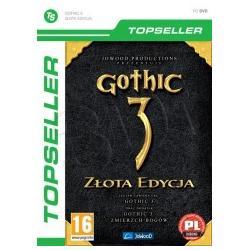 Gra PC TPS Gothic 3 Zlota Edycja (Gothic 3 + Zmier