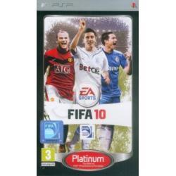 Gra PSP FIFA 10 Platinum
