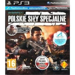 Gra PS3 Socom Polskie Sily Specjalne
