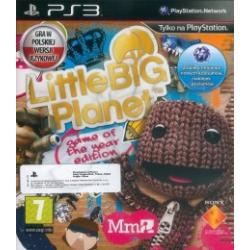 Gra PS3 Little Big Planet Game of the Year PL