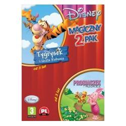Gra PC Disney 2pak - Tygrysek i uczta Kubusia + Pr