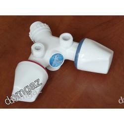 Bateria bez wylewki do przepływowego ogrzewacza wody - Dafi / nowy typ /