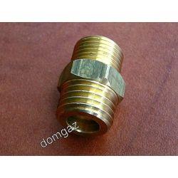 Nypel redukcyjny ogrzewacza wody - Dafi z  M18x2  na  3/8 - mosiężny