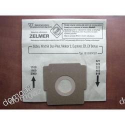 Worek papierowy / filtr / do odkurzacza Zelmer Cobra,Meteor 2, Exploer, Wodnik Duo Plus