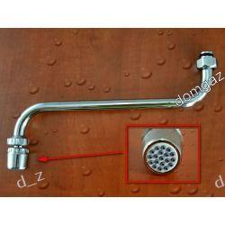 Wylewka metalowa 23,5 cm z perlatorem baterii do ogrzewacza wody Dafi Pozostałe