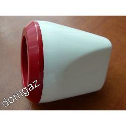 Pokrętło baterii plastikowej ogrzewacza wody Dafi - ciepła woda