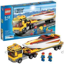 LEGO CITY Ciężarówka z motorówką