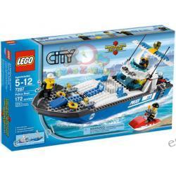 LEGO CITY Łódź policyjna 7287 ze skuterem wodnym