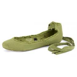 Baleriny Zielone Aspent