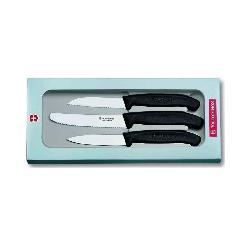 Victorinox zestaw 3 noży do warzyw 6.7113.3G. Towar na magazynie sklepu - ekspresowa dostawa