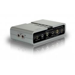 Sweex zewnętrzna karta dźwiękowa USB 2.1 5.1 7.1. Towar na magazynie sklepu - ekspresowa dostawa
