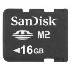 SanDisk Memory Stick Micro M2 16 GB. Towar na magazynie sklepu - ekspresowa dostawa
