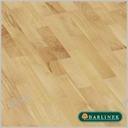 Barlinek - drewniane panele podłogowe, deska barlinecka Buk parzony Life Family (3 lam / półmat / 2200 x 207 x 14 mm)