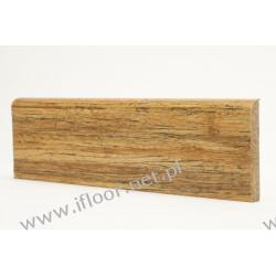 Kopp - lakierowana listwa przyścienna LS82 Bambus skręcany Cherry (mat / 12 x 82 x 1830 mm)
