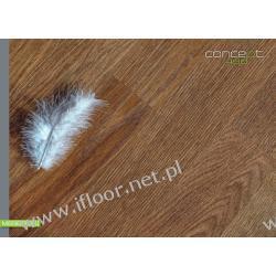 Quickparquet - dwuwarstwowy parkiet olejowany Dąb szczotkowany Exclusive-Select (olej brązowy / 490 x 70 x 11 mm)