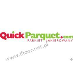 Quickparquet - dwuwarstwowy parkiet olejowany Dąb szczotkowany Exclusive-Select (olej czarny / 490 x 70 x 11 mm)