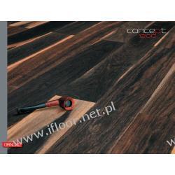 Quickparquet - dwuwarstwowa deska olejowana Dąb wędzony Select-White (olej naturalny / 1200 x 120 x 11 mm)