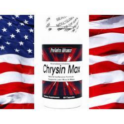 3x CHRYSIN MAX  Anty Estrogen CHRYZYNA Testosteron
