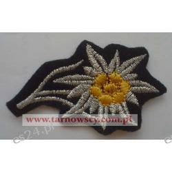 Szarotka na czapkę SS / WH oficer.