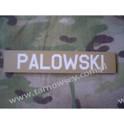 ID Velcro Patch name tape 25mmx125mm Repliki i rekonstrukcje historyczne