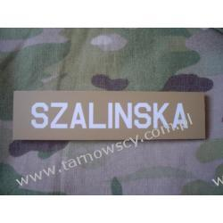 ID Velcro Patch name tape 25mmx100mm Repliki i rekonstrukcje historyczne