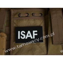 ID ISAF Patch - International Security Assistance Force Repliki i rekonstrukcje historyczne