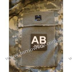 Blood Type Velcro Patch - AB NEG Repliki i rekonstrukcje historyczne