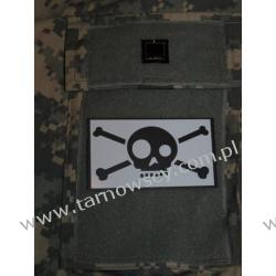 GHOST SKULL Patch White