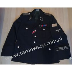 Mundur Waffen SS - LSSAH Sturmbannführer Oryginalne