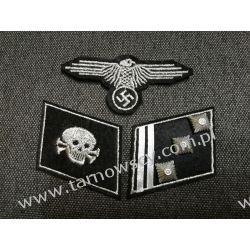 Patki WAFFEN SS Dywizja - Totenkopf Hauptsturmführer  Militaria