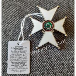 Odznaka 5. Pułku Strzelców Konnych Oryginalne