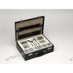 Sztućce Enigma - komplet sztućców 104 szt. dla 12 osób, matowiony