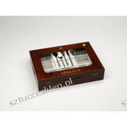 Sztućce Enigma - komplet sztućców 68 szt. dla 12 osób, matowiony